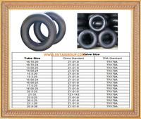 High quality truck butyl inner tube, 8.25-20 tube tyre