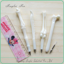 2015 plastic bone ball pen/ bone shaped excellent novelity pen
