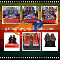 asientos juego de máquina recreativa parte silla 5D 6D 7D 9D 11D 12D película cine teatro del sistema hidráulico y eléctrico