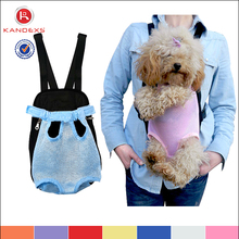 Comfortable Front Dog Carrier/Outdoor Pink Pet Bag/Fashion Dog Carry Bag For Wholesale