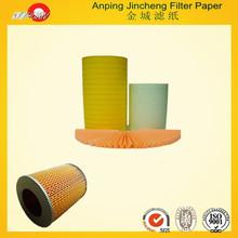 papel de filtro de la pulpa de madera del coche