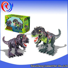Best selling electric plastic robot dinosaur king toys