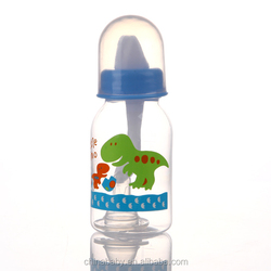 P809 Baby Bottle Type baby feeding bottle with spoon