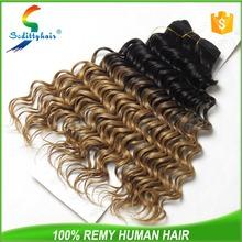 2015 new stylish Deep Wave hair premium now hair weave