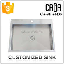 cadia special customized 304 stainless steel sink
