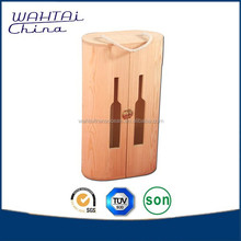 Golden Supplier Wooden Wine Bottle Carrier