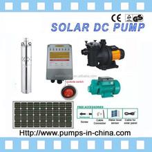 500w solar panel,high head solar water pump,high flow solar