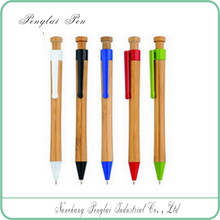 Novelty and Bamboo Material promotional thick ballpoint pens