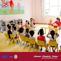 sound Absorb kindergarten rolled pvc vinyl floor