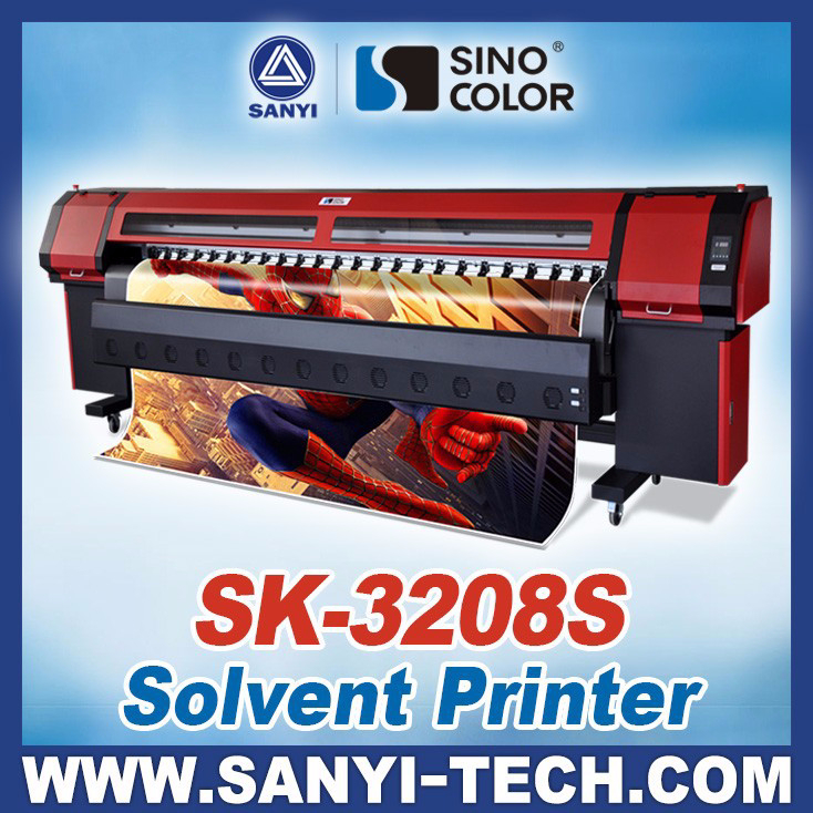 3 2m Vinyl Banner Printing Machine Sk 3208s With Spt510