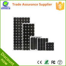 best price per watt 150w solar panel with Aluminum frame