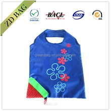 190t polyester fruit and vegetables folding shopping bag