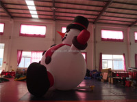 Newest inflatable Christmas decoration snowman for sale