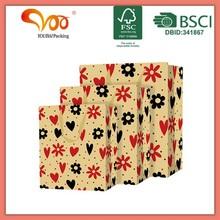 Popular design hot sale christmas style paper gift bag