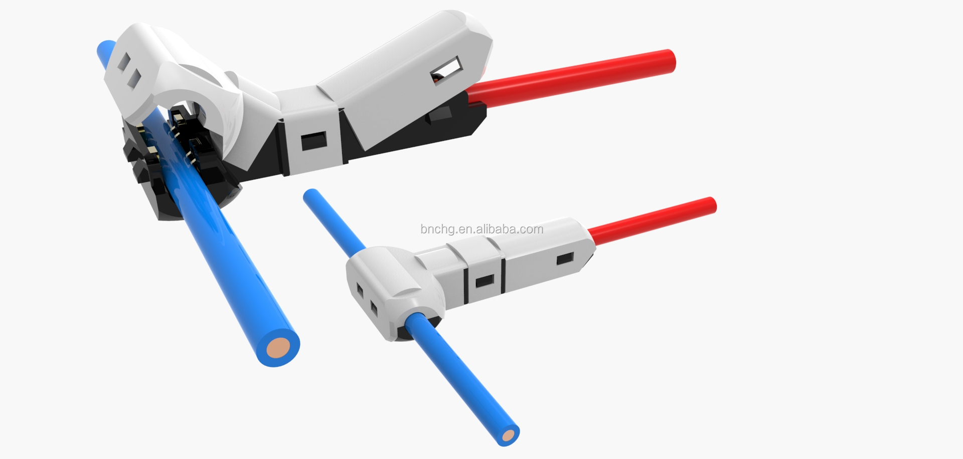 Newest Fast Connect Electrical Wire Terminal Connectors (t Shape ...