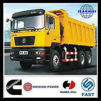 Cheap shacman 375hp 6*4 tipper trucks as good as uk used tipper trucks for sale