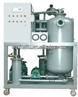Vacuum waste turbine oil restoration system