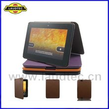 Top quality luxury leather case for Amazon Kindle Fire HD 7'' back case