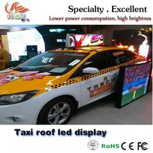 RGX Car roof sign!Car/Taxi Top LED Sign for Dynamic Advertising taxi top led display