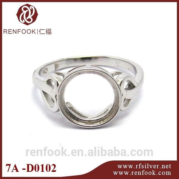 renfook direto da fábrica venda 925 sterling silver tulipa senhoras anel jóias configuração