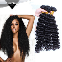 Sunny Queen Hair wholesale cambodian virgin hair weave 3pcs lot cambodian har weave cambodian hair for black women