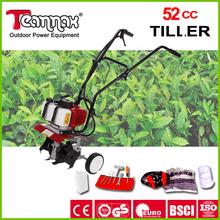 52cc professionnel prix raisonnable mini cultivateur rotatif