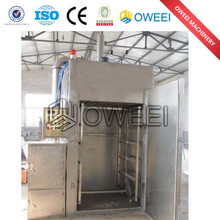 stainless steel meat sausage smoke oven
