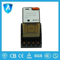 High performance electromagnetic songle relay
