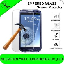 Premium Tempered Glass Screen Protector for Samsung Galaxy s3 i9300 9H Hard 2.5D Arc Edge Transparent Screen Protector