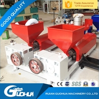 Two Layers blown film extrusion machine carrier bag PE film blowing machine