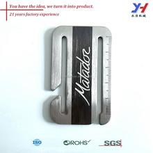 Oem odm metallo di buona qualità marchio/personalizzata in metallo marchio
