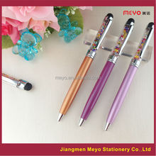2015 Warehouse Copper Crystal Ballpoint Pen, Capacitive Touch crystal pen