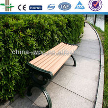 Outdoor WPC bench/garden bench