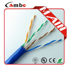 1000 ft Pure Copper Black Wire Jacket 24awg Standards Cat5e Lan Cable/Cat5e UTP Internet Cable