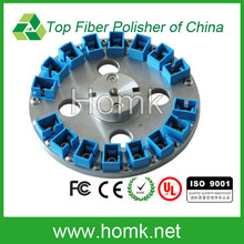 professional manufacturer provide SC PC/UPC 16 position fiber optical polishing jig,fiber polishing puck