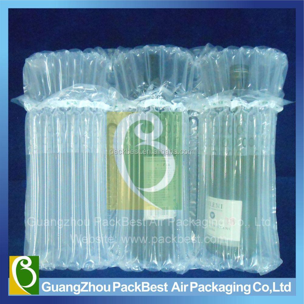 Remplissage Des Sacs : Gonflable emballage remplissage air sac de colonne