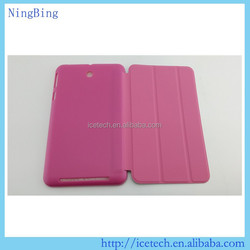 7 inch tablet leather case stand Pu leather case for Asus Memo Pad 7 ME176cx
