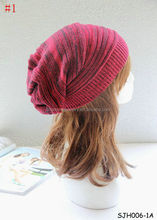 Unisex Warm Winter Baggy Beanie Oversized Knitted Crochet Ski Hat