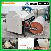 Industrial sheep wool combing machine