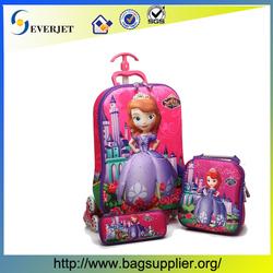 "16"" Fashion kids trolley bag,kids school bag,kids luggage with wheels"