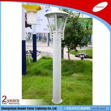 popular energy saving high power garden light solar bollard solar