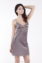 Women Silk Nighty Sleepwear
