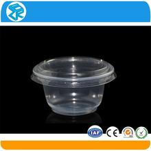 wholesale disposable plastic container cupcake take away box
