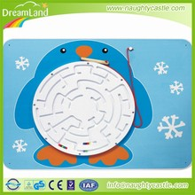 Wholesale magnetic penguin toy/fashion gift/wooden animal toys