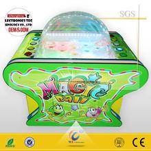 Children amusement arcade game machine magic ball/Amusement ticket arcade machine