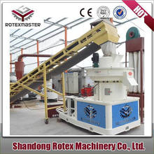 China Hot Selling Saw Dust Wood Pellet Machine/Pellet Mill With competitive Price
