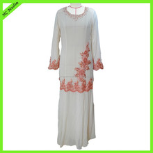 Hot selling islamic women clothing fashion morocan jalabiya and kaftan