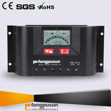LCD display background 24V 10A PV regulator 12V Solar charge controller