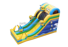 TOP Quality 18ft Slide Despicable Me Minion Inflatable Slide