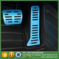 Aluminum Brake Pedal Assembly Brake And Clutch Pedal For Accessori Mazda CX 5 Axela Atenza